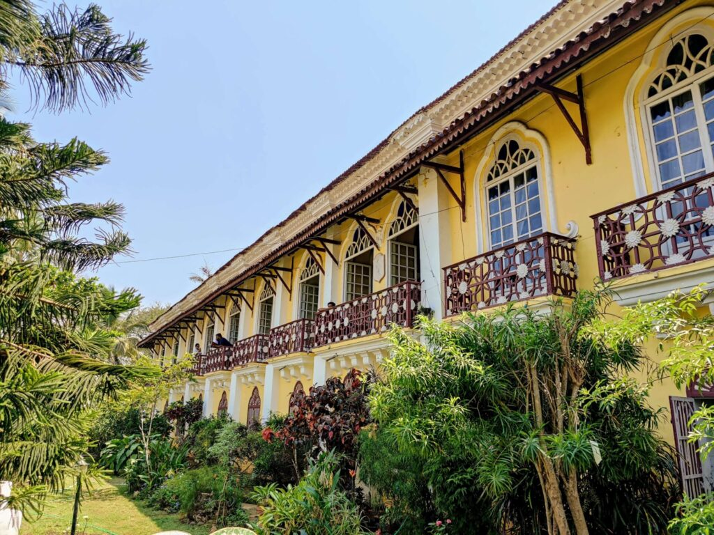 Menezes Braganza House (Chandor) GOA