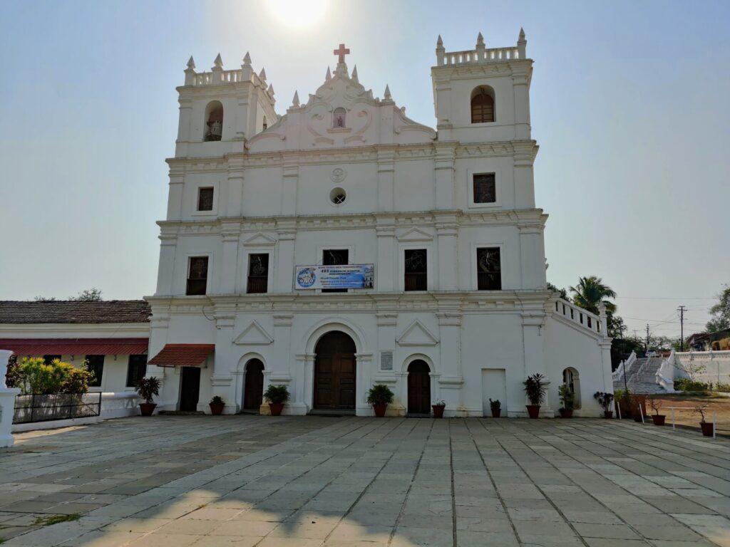 St. Thomas church aldona goa
