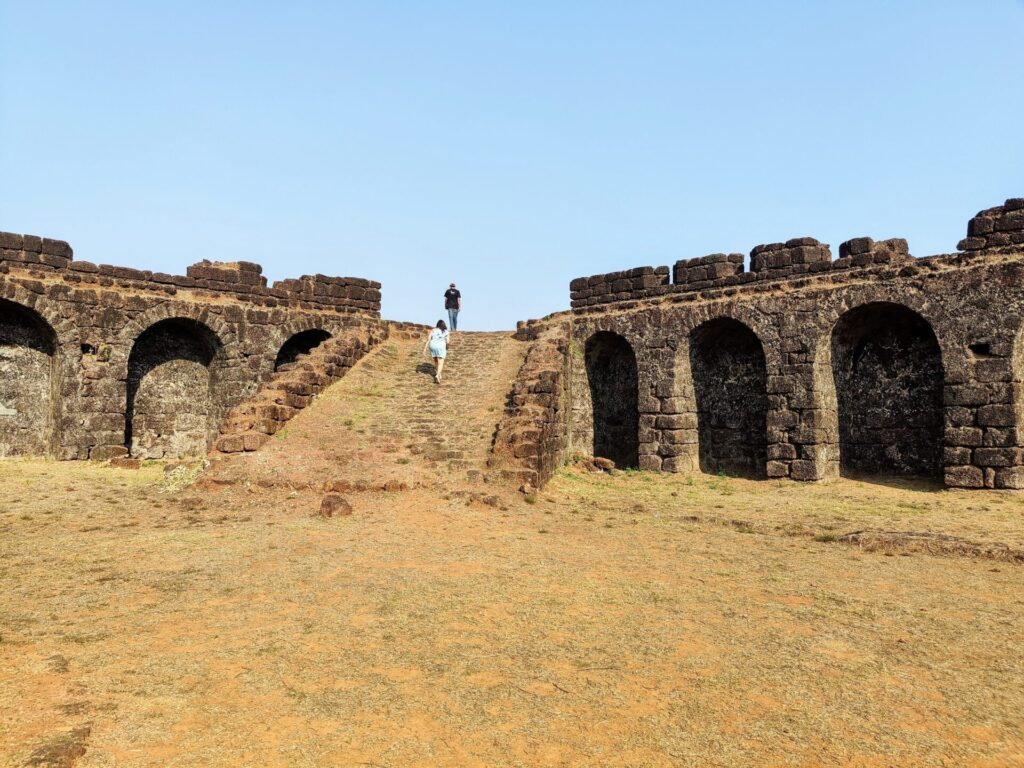 Corjeum fort goa - one of the offbeat things to do in goa