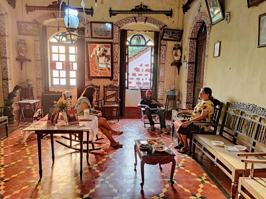 Goan house