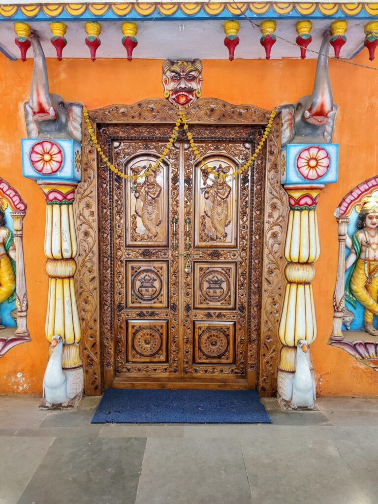 shree devki krishna temple, chorao island, goa